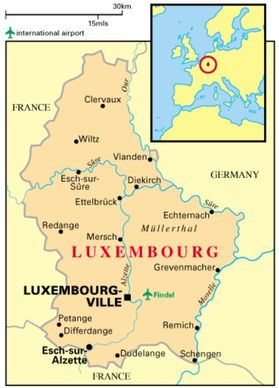 Luxembourg-carte