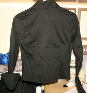 Chemise Noir US 01