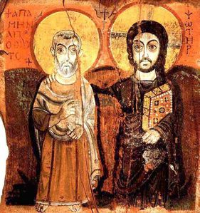 07-ANONYME-CHRIST-AND-THE-ABBOT-MENA-SINAI