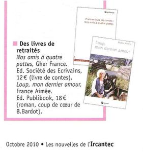 Article IRCANTEC (France Aimée)