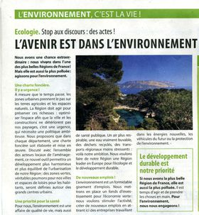 article mariani environnement BD