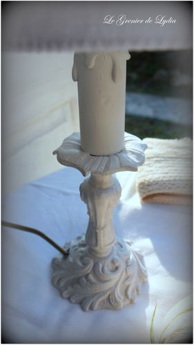 lampe romantique roses blanches (4)
