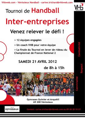 Tournoi IE Affiche