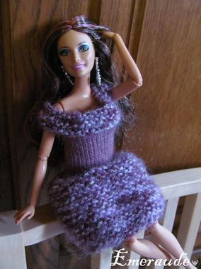 Tricot Barbie, robe - 11.07.28 - 03