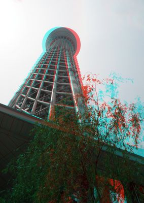 Tokyo - Sky tree tower - 3D - AG