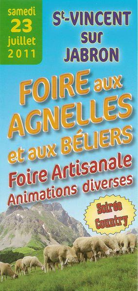 20110723 Foire aux Agnelles-recto