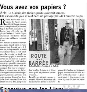 galerie des papiers perdus PN