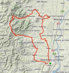 Parcours Route Solo 22.01