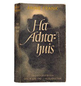 première édition anne frank