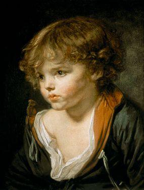 Jean-Baptiste Greuze enfant