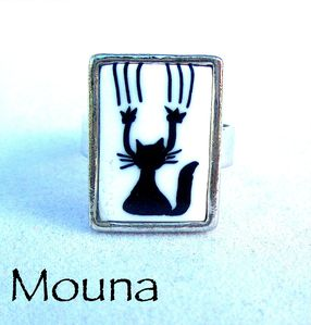 Bague Chat griffe 6 DISPONIBLE: 15 euros.