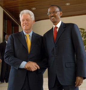 Clinton and Kagame
