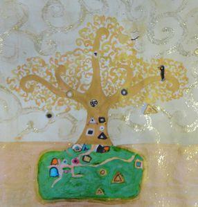 l'arbre de Klimt d'Alice