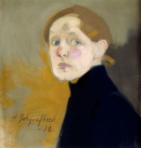 helene-schjerfbeck-finnish-1862-1946-self-portrait-