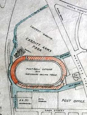 Plans for the Arms Park