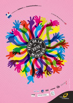 Affiche Fete de la musique 2012 reduite