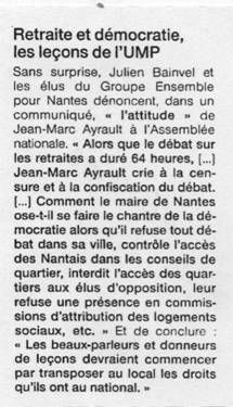 Ouest France 17-09-10