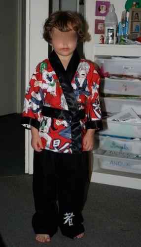 pyjama kimono