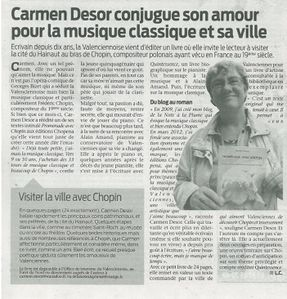 Article septembre 2012 L'Observateur du Valenciennois