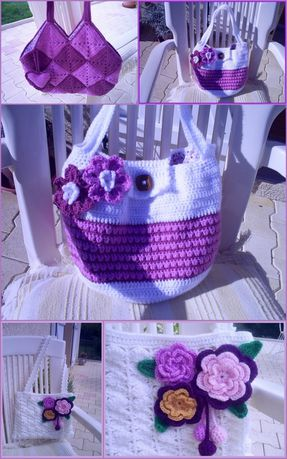 sacs au crochet