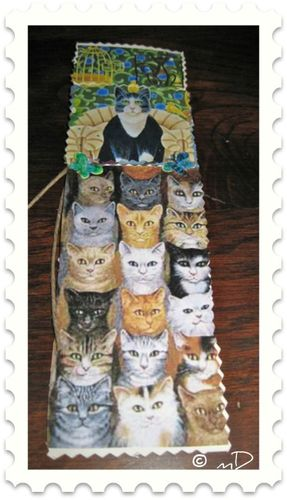 Marque-pages les chats 2 k