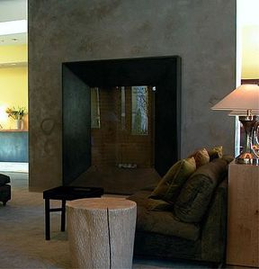 chemin e 3 fronton en beton balian beton atelier. Black Bedroom Furniture Sets. Home Design Ideas