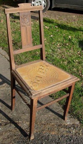 Chaise avant customisation