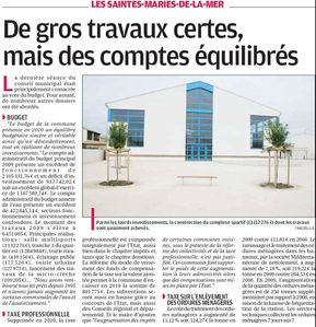 GROS TRAVAUX BUDGET EQUILIBRE