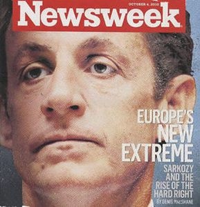 Newsweek sarkozy europe extreme droite
