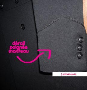 detail poignee manteau the kooples