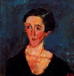 9942 Castaing Soutine 1929 Portrait de Madame Castaing Asqu