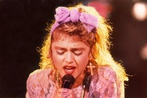 1985 Like A Virgin Tour: Madonna's home debut is short but snazzy