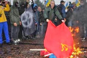 Ukr redflagburning