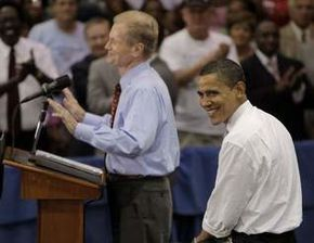 Bill Nelson with Obama