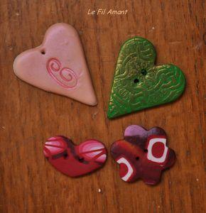 boutons coeur