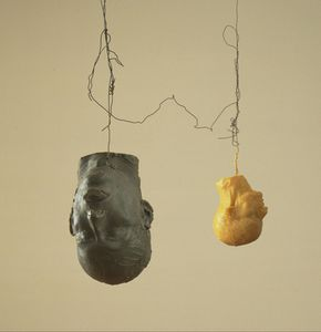 1941 Nauman Bruce Hangings heads 1989 MOMA