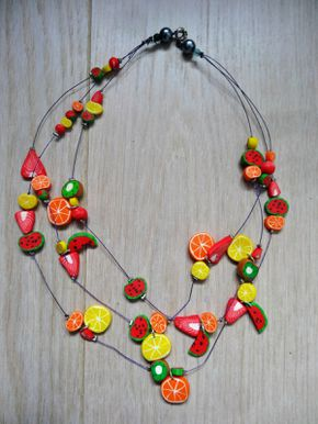 Collier agrumes