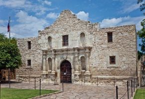 TEXAS fort-Alamo-texas-etats-unis