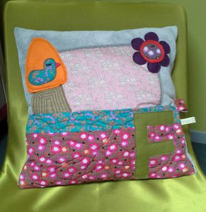 Coussin doudou Faustine-1