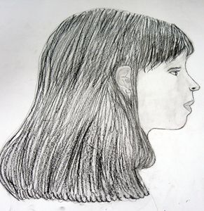 portrait d'Elodie par bastien