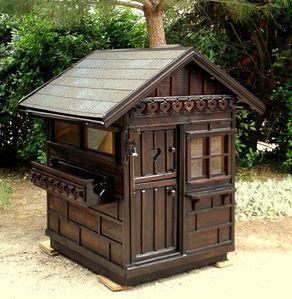 Avant apr s la restauration d 39 une petite cabane chalet for Petite cabane de jardin