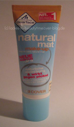 clearfave natural mat make-up