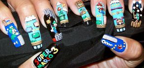 Ongles Mario bros