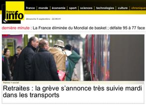 France info grve3