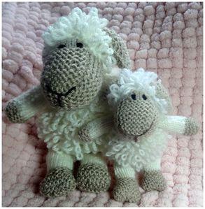 mouton en tricot