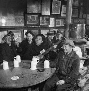 Woody Guthrie at McSorleys
