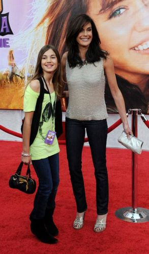 Teri Hatcher et sa fille Emerson
