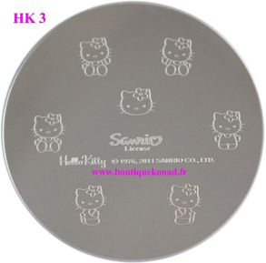 hello kitty stamping 3