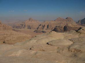 Wadi Rum 4-12 Depuis le sommet