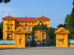 Hanoi - Mausolée (3)